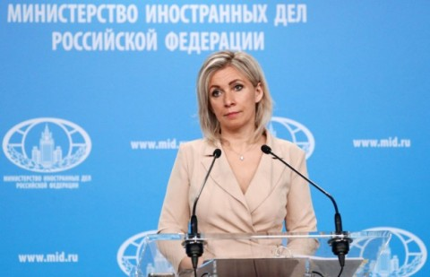 Zakharova erupts in fury over Norway's military deal with the United States